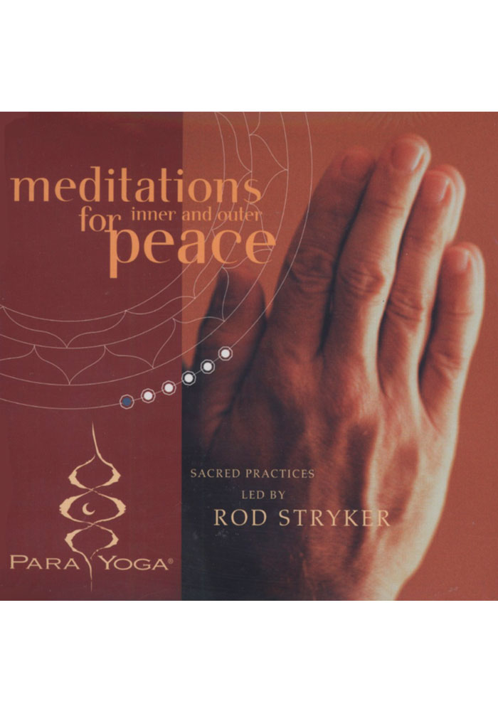 Meditations for Inner/Outer Peace CD