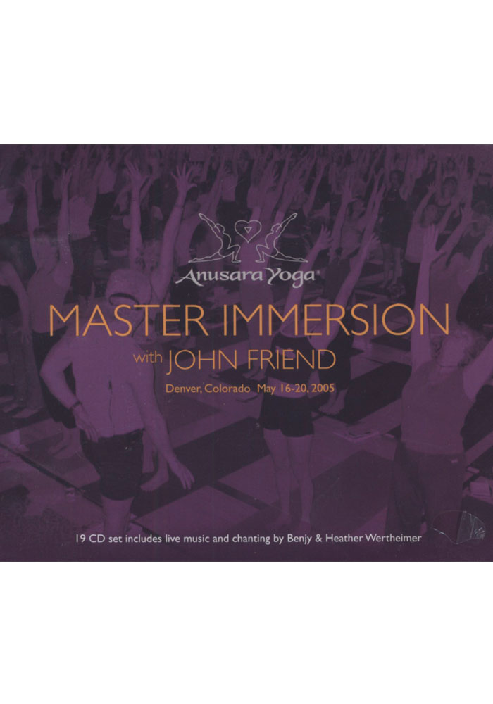 Master Immersion with John Friend 19 disc CD set