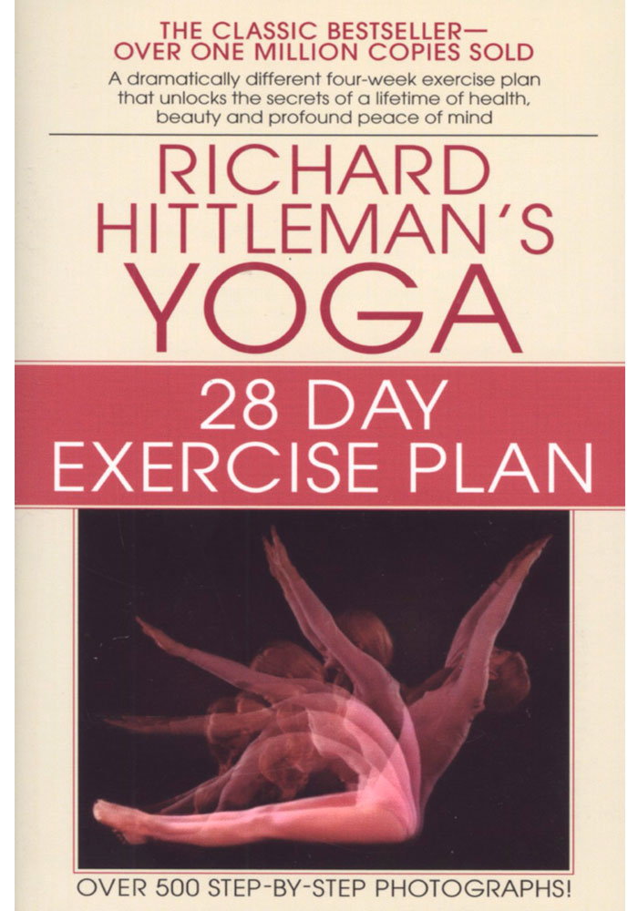 28 Day Yoga Exercise Plan Book