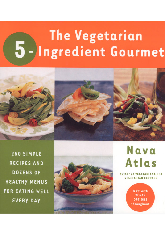The Vegetarian 5-Ingredient Gourmet Book