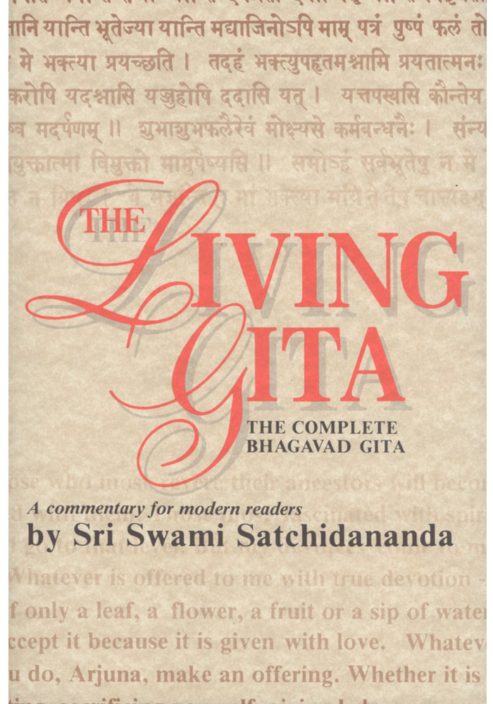 The Living Gita Book