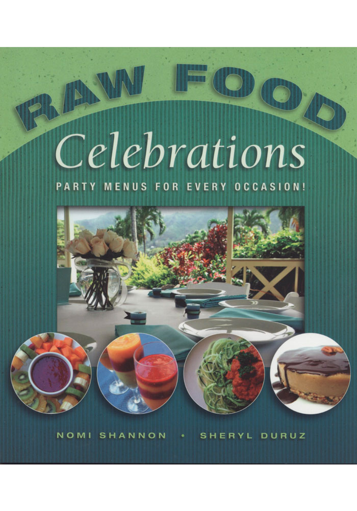 Raw Food Celebrations Book