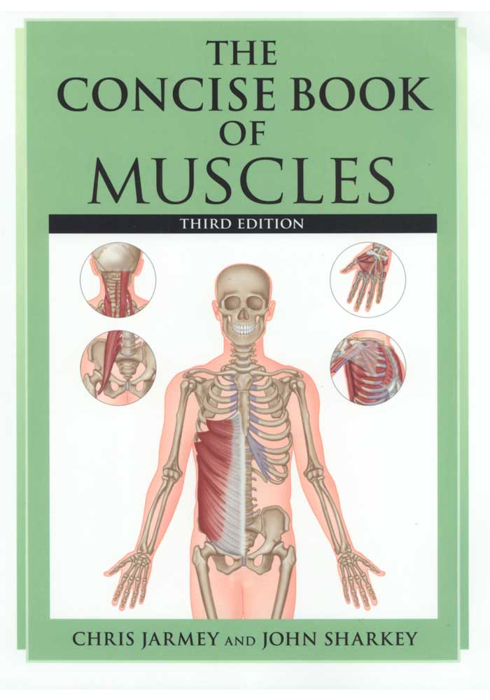 The Concise Book of Muscles Third Edition Book