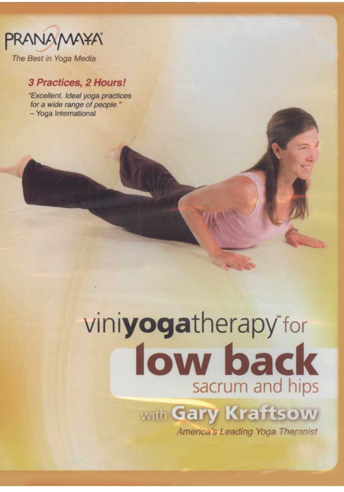 Vini Yoga Therapy for Low Back, Sacrum and Hips DVD