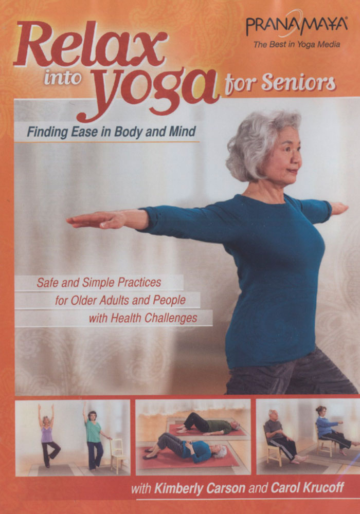 Relax Into Yoga DVD