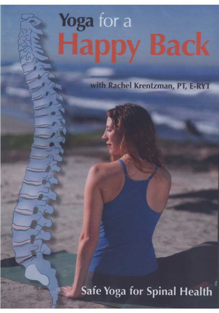 Yoga for a Happy Back by Rachel Krentzman DVD